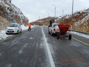 ניקיון כבישים